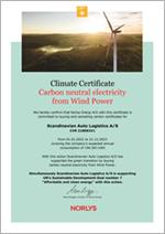 Klima certifikat